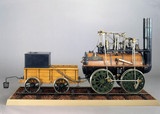 'Locomotion No 1', Stockton and Darlington Railway, 1825.