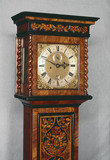 Long case clock, English.