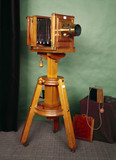 Studio camera by Patrick Meagher, 1890.