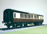 'Cornish Riviera Expres' railway carriage, 1936.