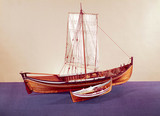 Norwegian herring boat, late 19th century.