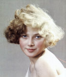 Portrait of a blonde, English, 1932.
