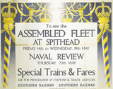 'To See the Assembled Fleet', SR poster, 1937.