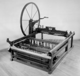 Hargraves's Spinning Jenny, 1760. A modern