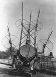 Anti-aircraft radar, Britain, 15 August 194