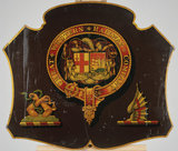 Coat of arms of the Great Western Railway, 19th century.