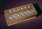 Pascal's calculating machine, 1642 (replica
