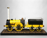 'Planet' locomotive, 1830. Model (scale 1:8