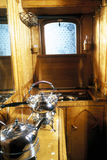 Attendant's compartment adjoining Queen Victoria's day saloon, 1870-1901.