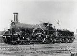 Steam locomotive No 342A, c 1890.