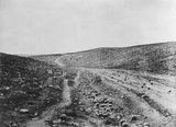 Valley of the Shadow of Death, c 1855.