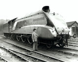 Sir H Nigel Gresley, railway engineer, March 1938.