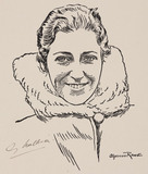Amy Mollison (nee Johnson), British aviator, 1932-1938.