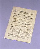 Limb unit appointment card for Queen Mary's Hospital, Roehampton, 1917.