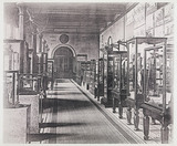 Exhibits at the South Kensington Museum, London, 1876.