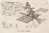 'New aerial Machine', late 19th century.