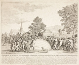 The destruction of Charles and Robert's balloon, 27 August 1783.
