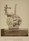 Spectroscope with five prisms, Rome, Italy, 1876.
