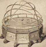 'Grand Orrery by Thomas Wright', London, 1715-1728.