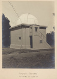 Building and dome for the Astrographic Telescope, 1909.