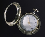 Watch with Flamenville dead-beat escapement. London, c 1759.