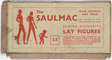 'Saulmac Lay Figures' to aid figure drawing, 1930s.
