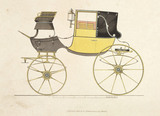 Landaulette carriage, 1816.