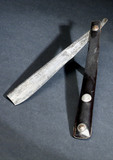 Cut throat razor, 1750-1850.