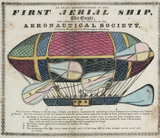 The 'Eagle', the 'First aerial Ship', 1834.