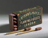 Flaming fusees, c 1880.