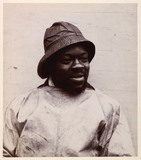 Portrait of a fisherman, c 1900.