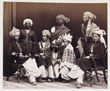 'Sons of Nowroz Khan With Attendants', c 1878.