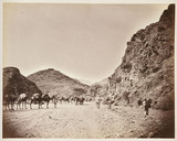 'Shadi Bagiar Entrance to Khyber Pass', c 1878.
