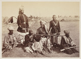 'Jellallabad [sic] - Scenes in Camp', 1879.