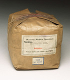 Packet of poisonous stavesacre seed, 1901-1940.