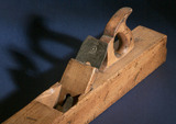 Wooden foreplane, 1900.
