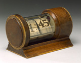 Synchronous mains electric clock of the self-starting type, c 1934.