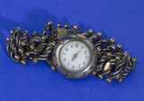 Bezel wind wrist watch, c 1880.