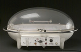Portable neonatal incubator by Oxygenaire, 1950-1965.