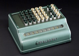 'Plus' calculating machine, c 1955.