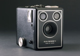 Kodak 'Six-20 Brownie C' roll film box camera, c 1948.