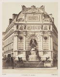 'Fontaine St Michel', Paris, c 1865.