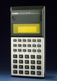 Casio College FX-80 pocket scientific electronic calculator, c 1982.