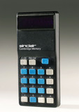Sinclair Cambridge Memory electronic calculator, 1974.