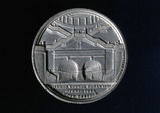 Commemorative medal, celebrating the opening of Thames Tunnel, 1843.