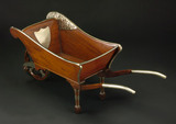 Ceremonial wheelbarrow, West Lancashire Railway, 1873.