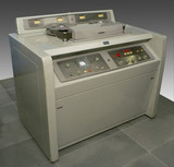 Ampex videotape recorder, type VR1000A, serial number 329, c 1950s.