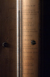 Greenhouse thermometer, c 1798.