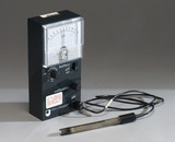 Open University pH meter and probe, 1990-1996.