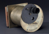 All metal camera designed by Gaudin, c 1845.